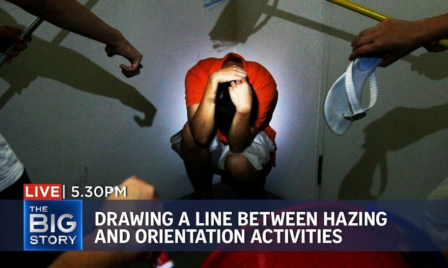 Drawing a line between hazing and orientation activities | THE BIG STORY