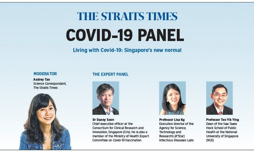 Living with Covid-19: Singapore's new normal   Expert panel   The Straits Times