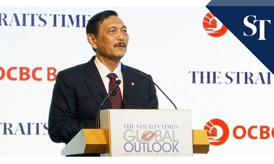 Asean countries must maintain their solidarity: Luhut Pandjaitan | ST Global Outlook Forum