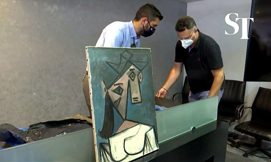 Police recover Greek art heist's stolen Picasso