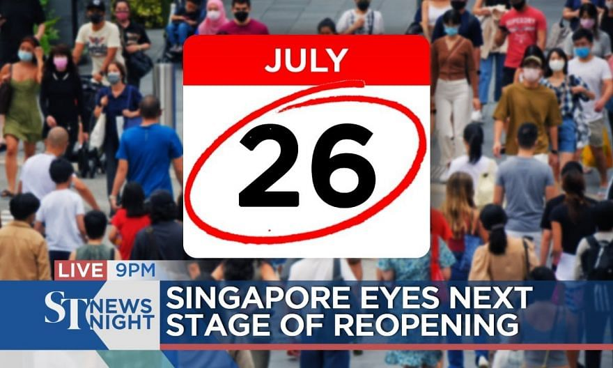S'pore eyes next stage of reopening | ST NEWS NIGHT