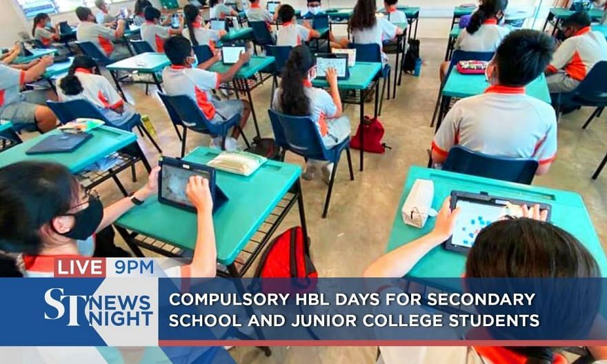 Compulsory HBL days for post-primary students | ST NEWS NIGHT