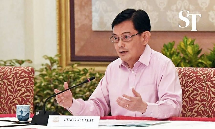 DPM Heng Swee Keat on his decision to step aside as 4G leader