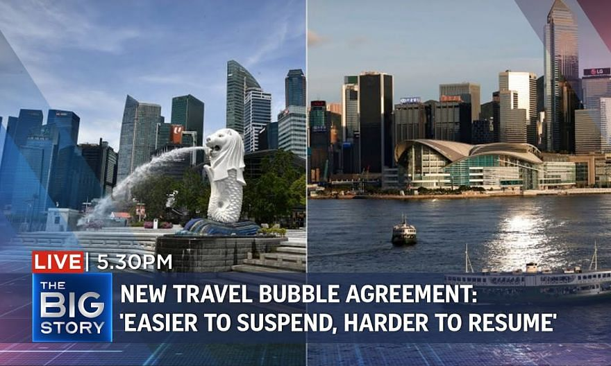 'Easier to suspend, harder to resume': Ong Ye Kung on reopening S'pore-HK bubble | THE BIG STORY