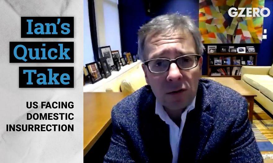 Ian Bremmer: US Facing Domestic Insurrection & Terrorism | Quick Take | GZERO Media