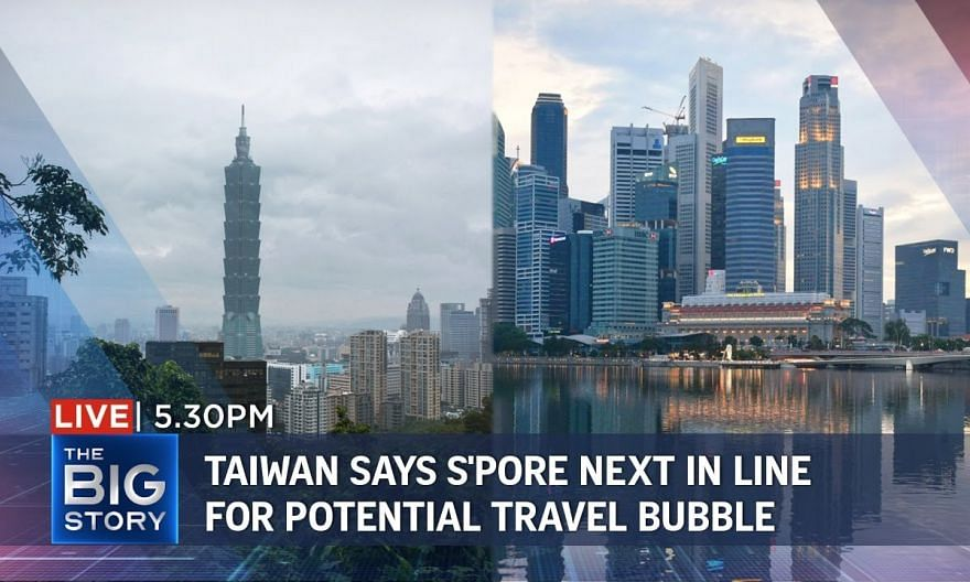 S'pore next in line for potential travel bubble with Taiwan | THE BIG STORY
