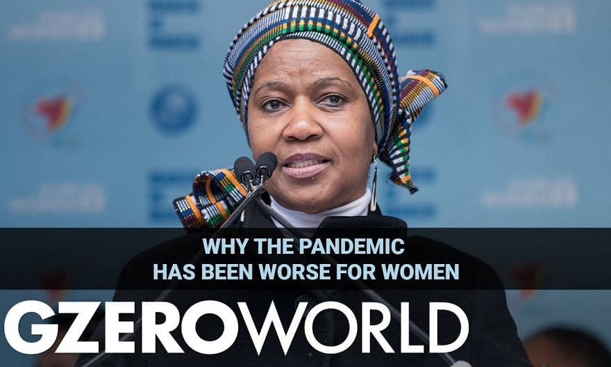 Why the Pandemic Has Been Worse for Women | UN Women's Phumzile Mlambo-Ngcuka | GZERO World