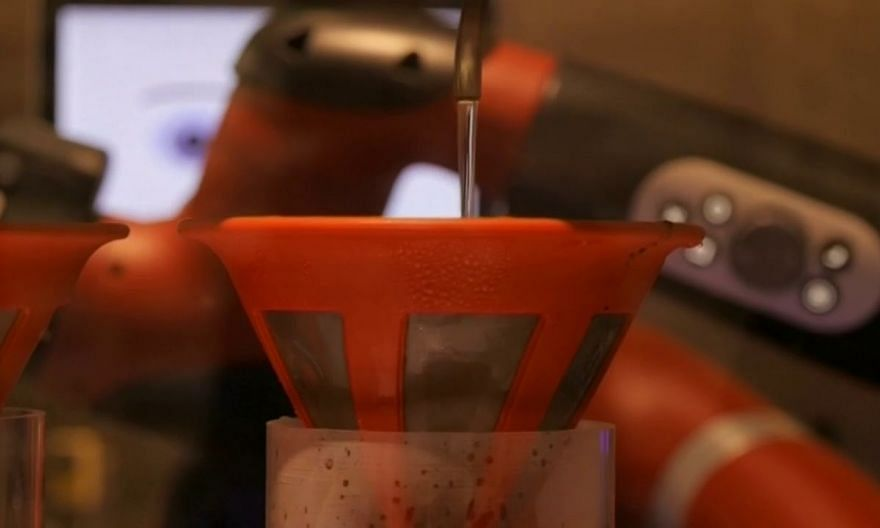 Meet Tokyo's new robot barista at 'Strange Cafe'