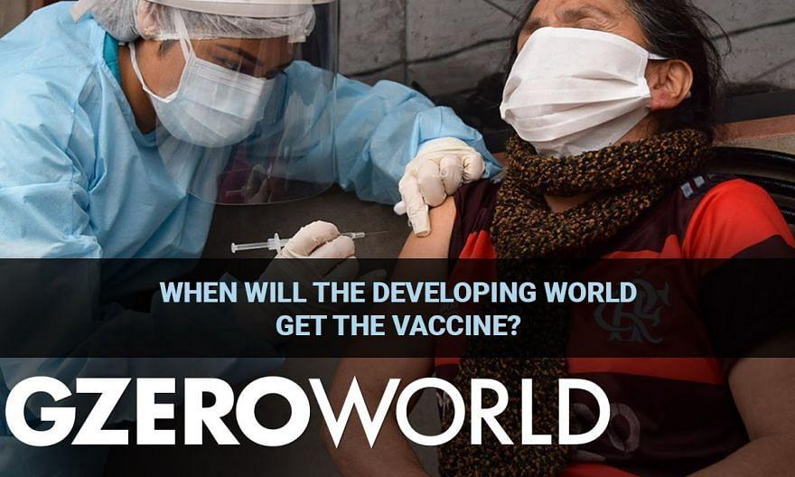 Getting the Vaccine to the Developing World | World Bank President David Malpass | GZERO World
