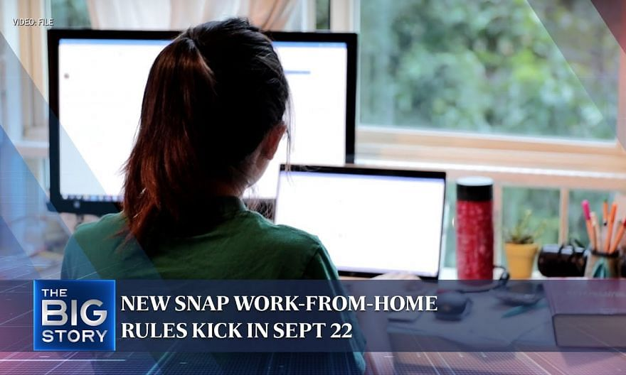 Singapore's new snap work-from-home rules: How will changes affect onsite workers? | THE BIG STORY