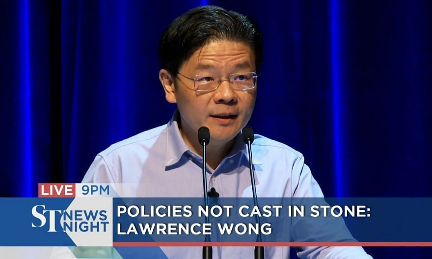 Policies not cast in stone: Lawrence Wong | ST NEWS NIGHT