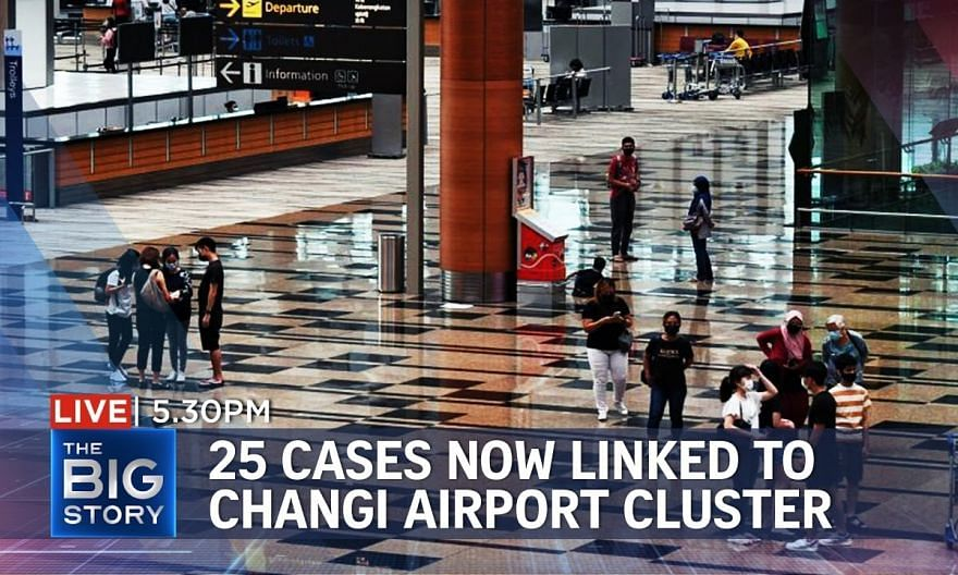 10 new local Covid-19 cases confirmed, including 7 linked to Changi Airport cluster   THE BIG STORY