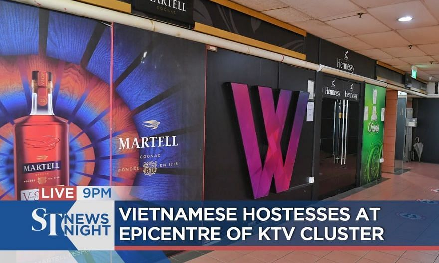 Vietnamese hostesses at epicentre of KTV cluster | ST NEWS NIGHT