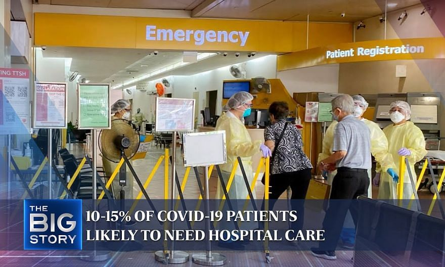 Covid-19: 10-15% of patients likely to need hospital care when situation stabilises | THE BIG STORY