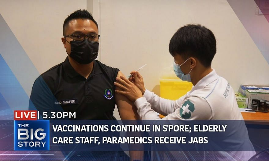 Elder care staff and paramedics get their Covid-19 vaccines | THE BIG STORY