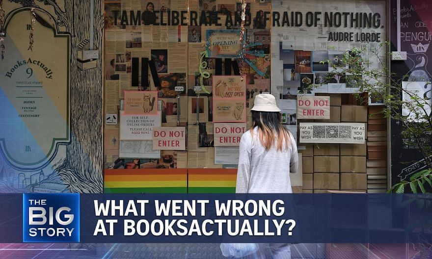 BooksActually saga grips Singapore's literary community | THE BIG STORY