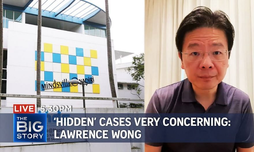 'Hidden' cases very concerning, says Lawrence Wong as he urges people to stay home   THE BIG STORY