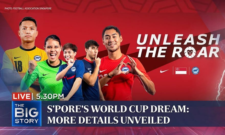 More details unveiled to send S'pore to 2034 World Cup | THE BIG STORY