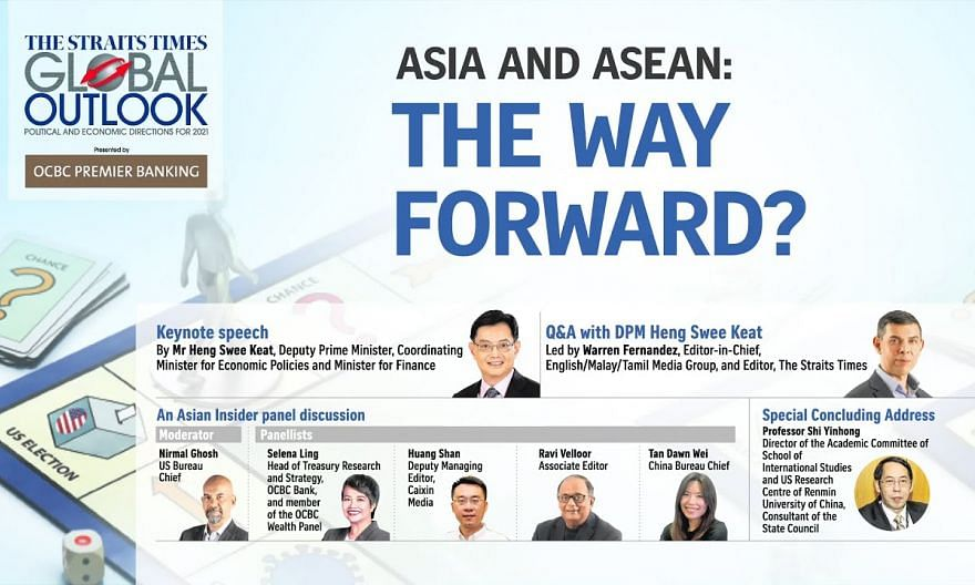 [LIVE] Asia and Asean: the way forward? | The Straits Times Global Outlook Forum 2021