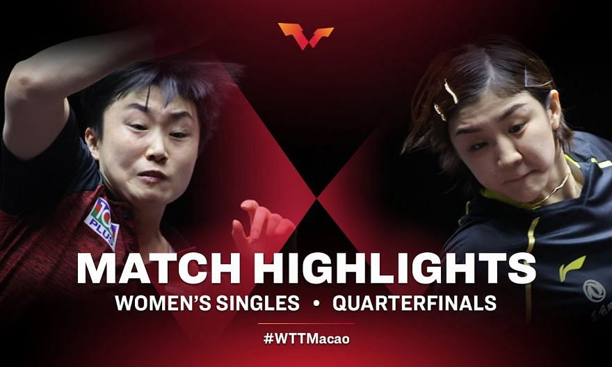 Feng Tianwei vs Chen Meng | WTT Macao Quarterfinals HIGHLIGHTS