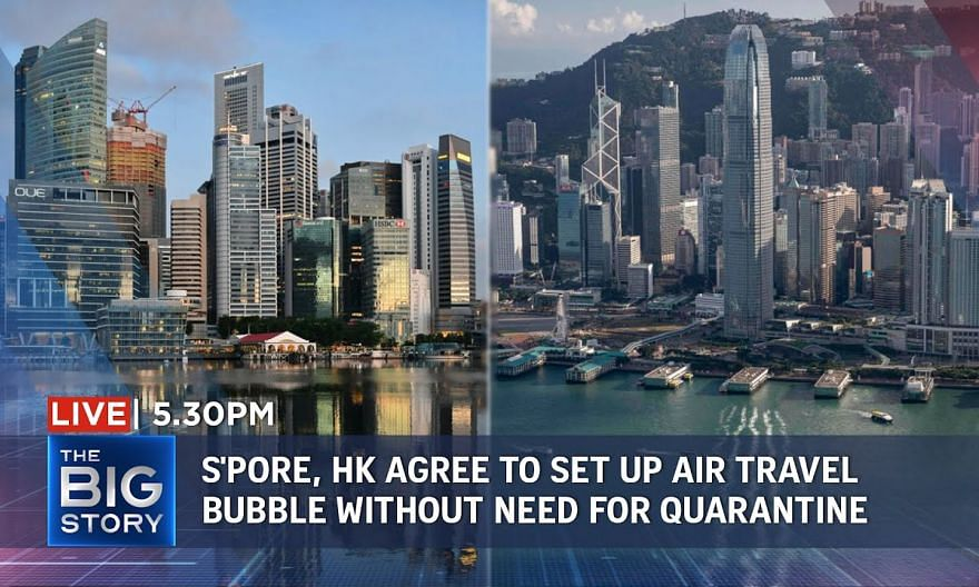 S'pore, HK agree to set up air travel bubble without need for quarantine | THE BIG STORY