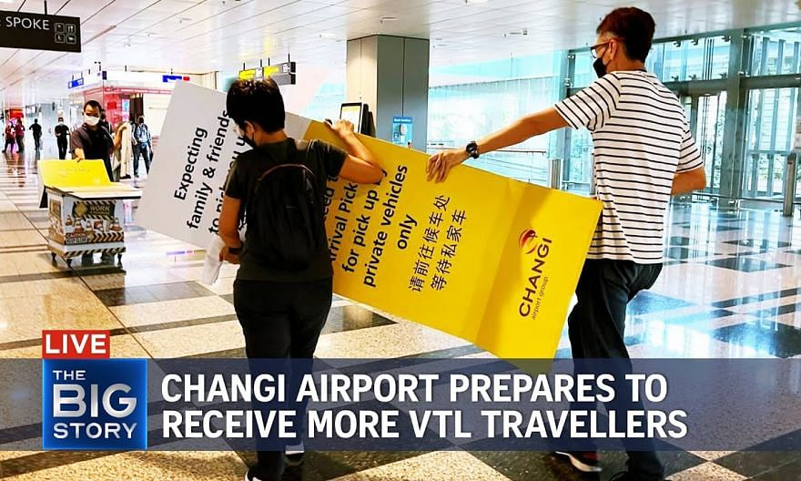 Changi Airport eases Covid-19 measures to prepare for more VTL travellers | THE BIG STORY