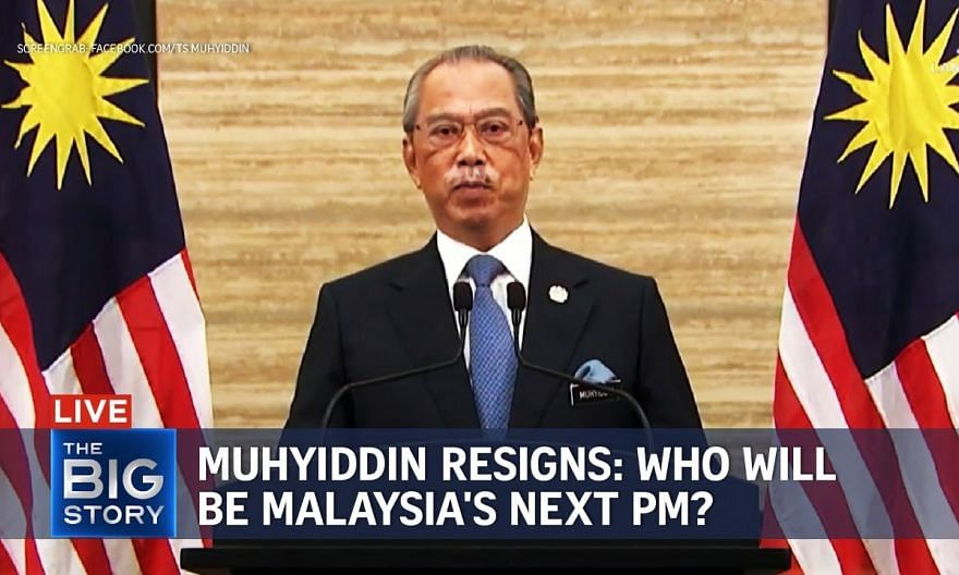 Malaysia's Muhyiddin Yassin appointed caretaker PM until successor is found   THE BIG STORY