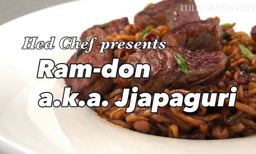 Ram-don aka  (as seen in Parasite)| Hed Chef