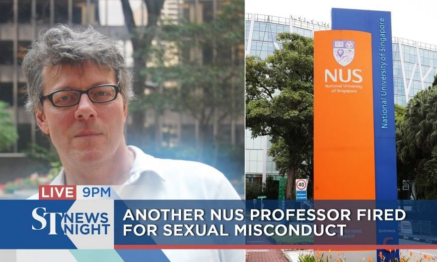Another NUS professor fired for sexual misconduct | ST NEWS NIGHT