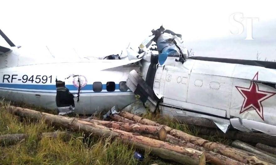 Russian plane crashes in Tatarstan region