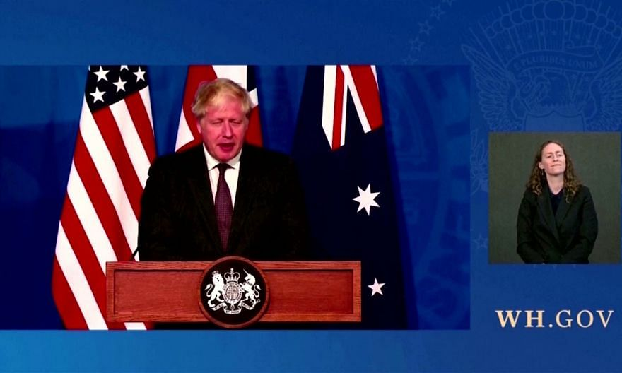 US, Britain and Australia announce Indo-Pacific defence pact