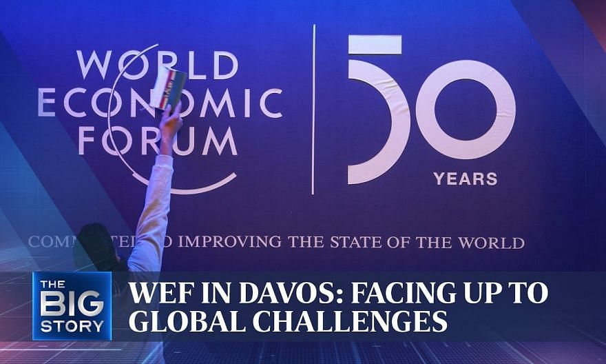 Global leaders in Davos to tackle global issues | THE BIG STORY | The Straits Times
