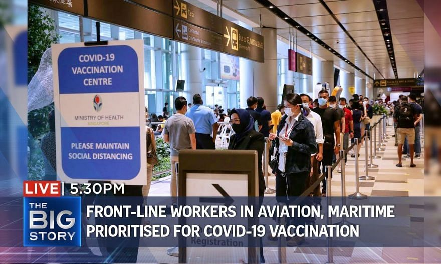 37,000 front-liners in aviation, maritime to get Covid-19 shots within 2 months   THE BIG STORY