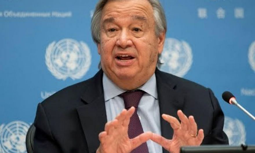 Declare states of 'climate emergency': UN chief to world leaders