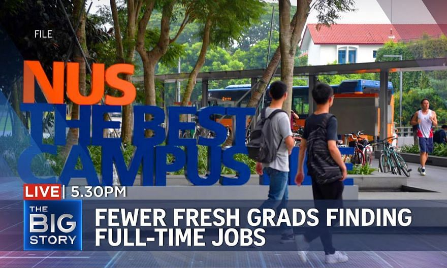 Fewer new graduates in full-time work, but earn higher salaries | THE BIG STORY