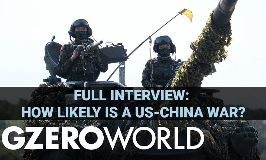 A US-China War: Here's How It Could Happen   Admiral James Stavridis (Ret.)   GZERO World