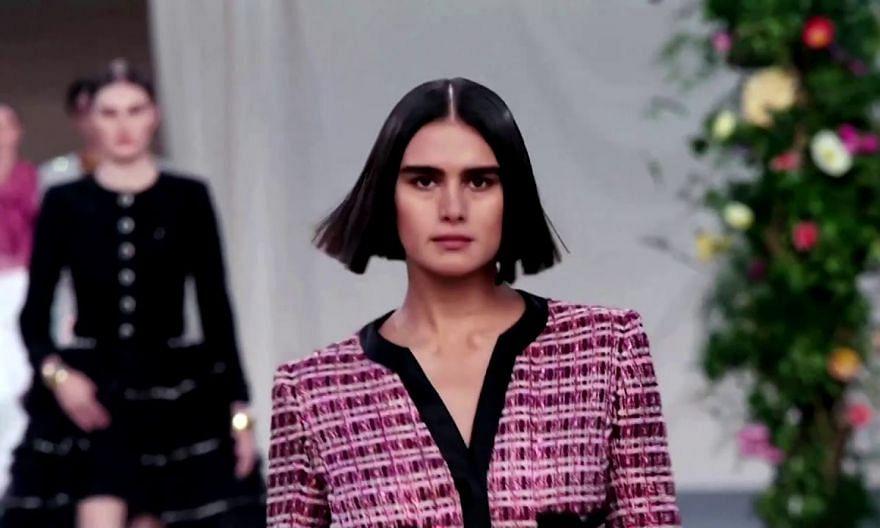 Chanel throws haute couture garden party