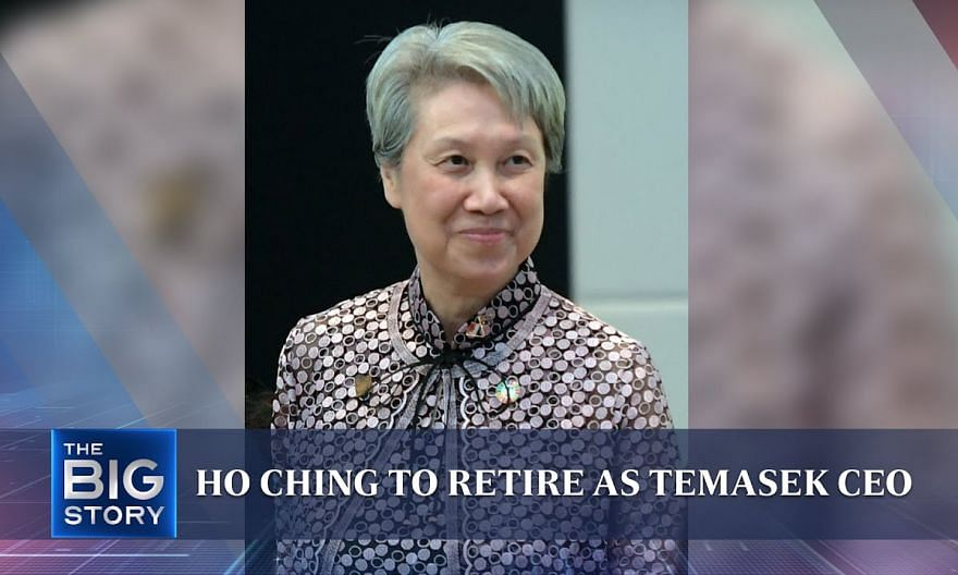 Ho Ching to retire as Temasek CEO on Oct 1 | THE BIG STORY