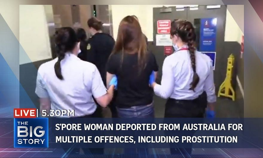S'pore woman deported from Australia for overstaying visa and illegal sex work | THE BIG STORY