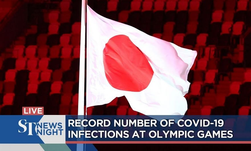 Record number of Covid-19 infections at Olympic Games | ST NEWS NIGHT