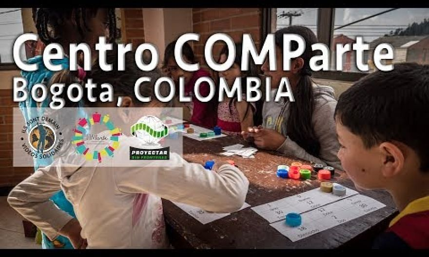 Centro COMParte, for the legacy of a lasting peace, Bogota, Colombia