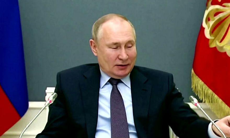 Russia's Vladimir Putin receives second shot of Covid-19 vaccine