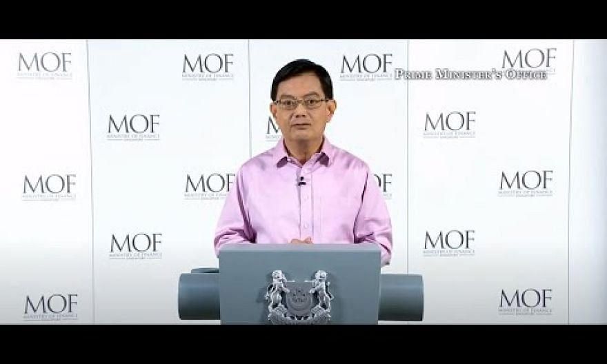 [LIVE] DPM Heng Swee Keat announces additional Covid-19 aid schemes | The Straits Times Live