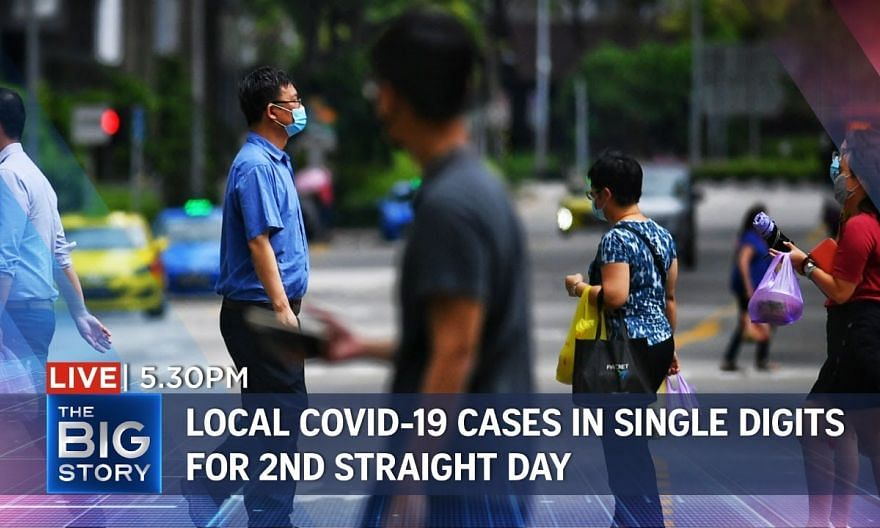 S'pore reports new local Covid-19 cases in single digits for 2nd straight day | THE BIG STORY
