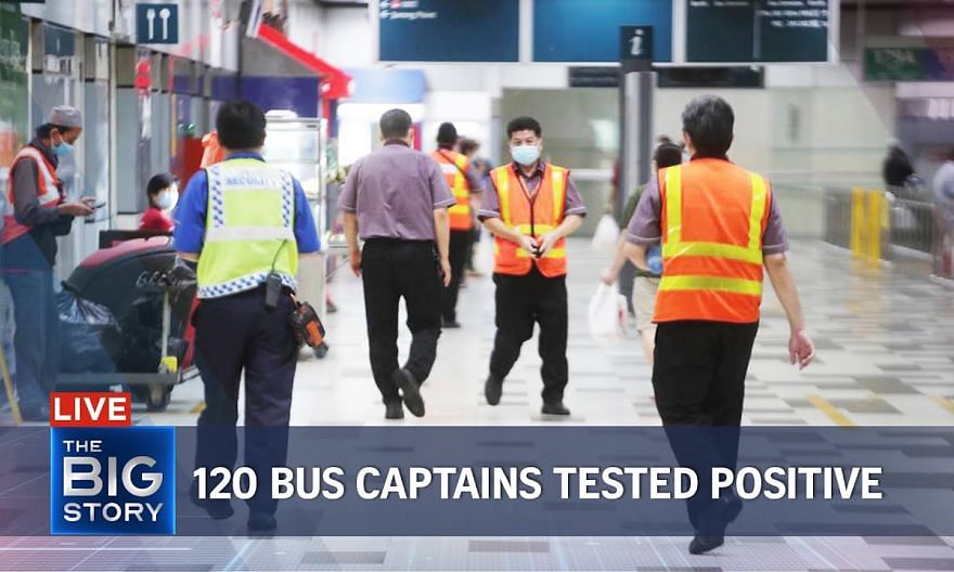 120 bus drivers infected with Covid-19 so far; Lower-wage workers to see pay hike   THE BIG STORY