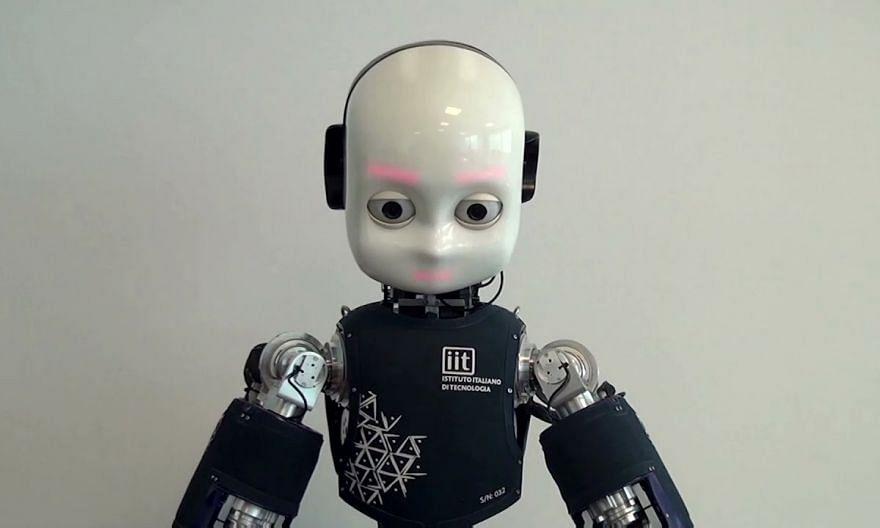 How a robot's gaze can put humans off