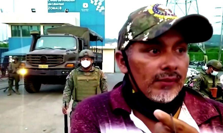 Ecuador prison gang riots kill at least 62