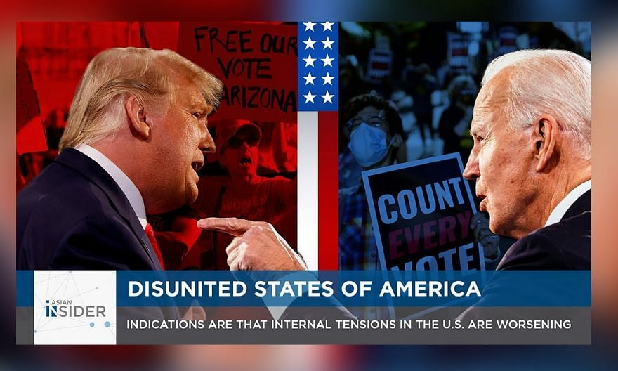 Disunited States of America: Indications are that internal tensions in the US are worsening | EP48