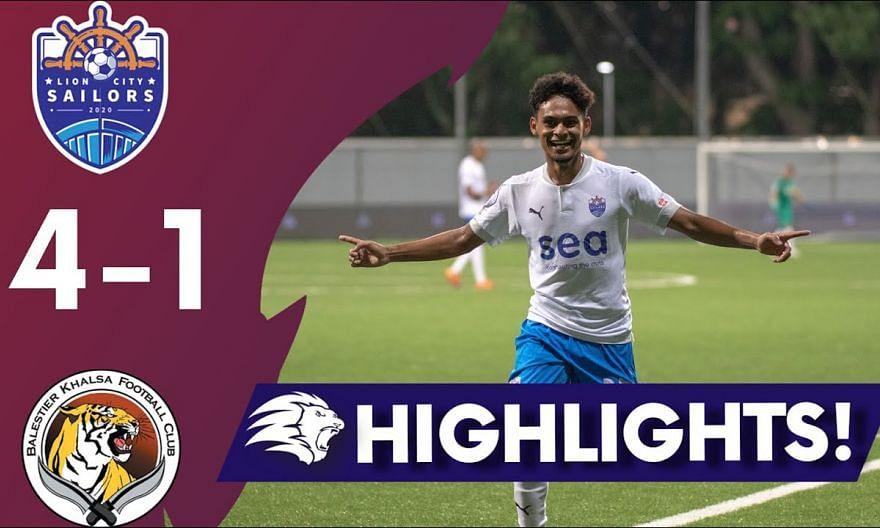 2021 AIA Singapore Premier League: Lion City Sailors vs Balestier Khalsa