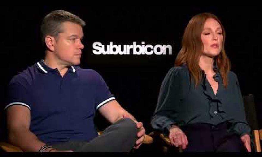 George Clooney, Julianne Moore and Matt Damon discuss Harvey Weinstein